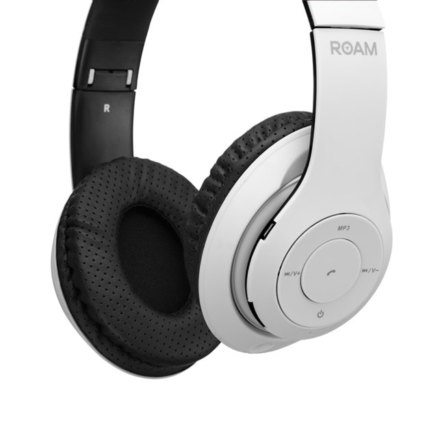 Roam Colours White Bluetooth Headphones (hmv Exclusive) - 2