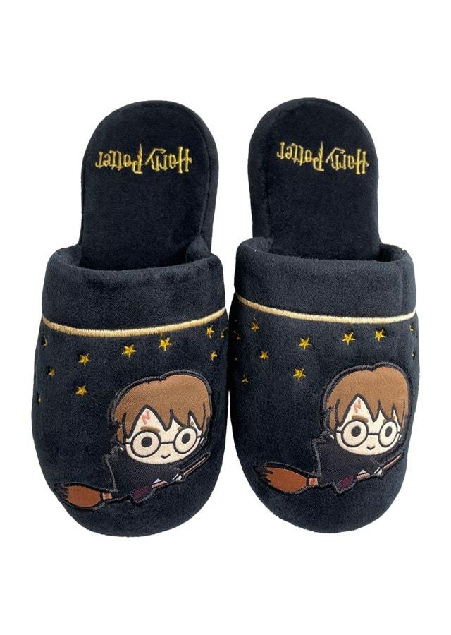 Harry Potter: Kawaii Black Ladies Large (UK 5-7) Mule Slippers - 1