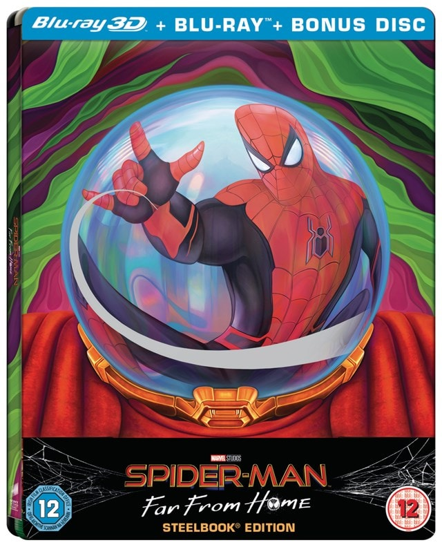 Spider-Man - Far from Home (hmv Exclusive) Limited Edition Steelbook - 2
