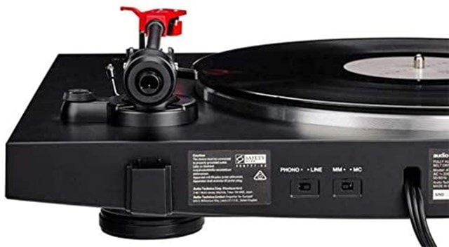 Audio Technica AT-LP3 Black Turntable - 3