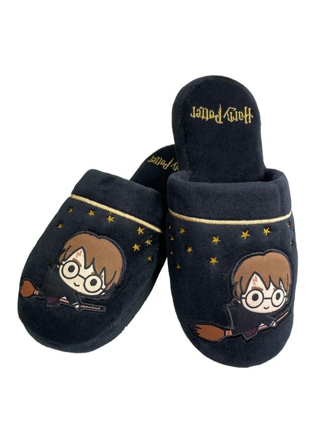 Harry Potter: Kawaii Black Ladies Large (UK 5-7) Mule Slippers - 4