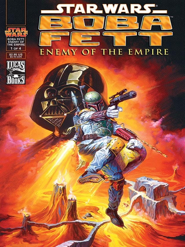 Enemy Of The Empire: Star Wars Canvas Print - 1