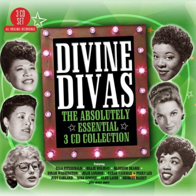 Divine Divas: The Absolutely Essential Collection - 1