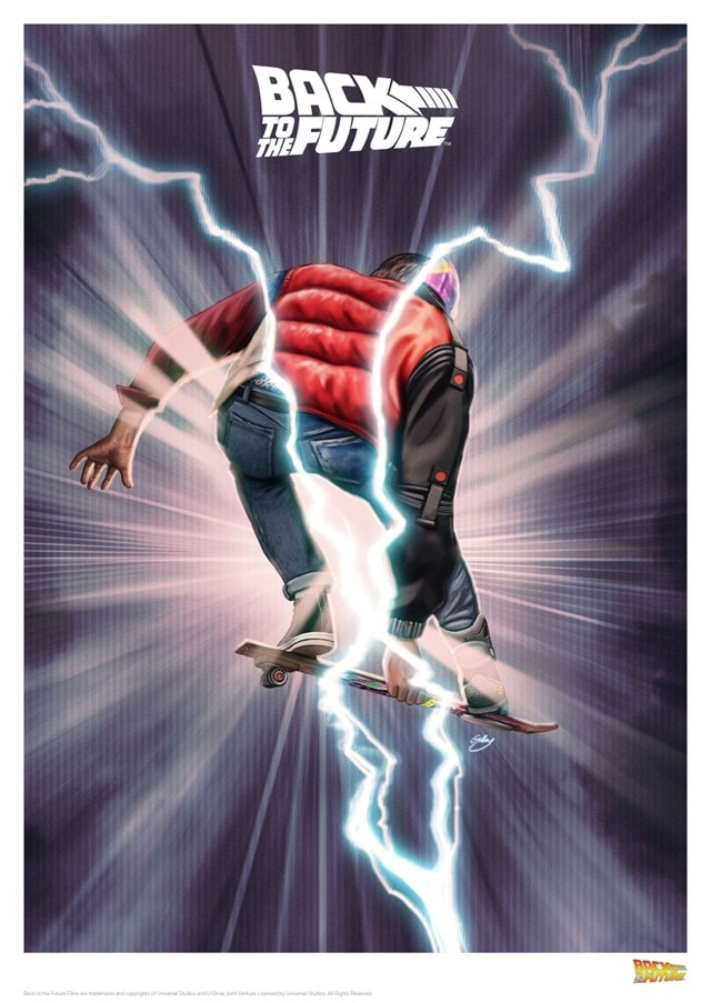 Back To The Future: Limited Edition Art Print - 1