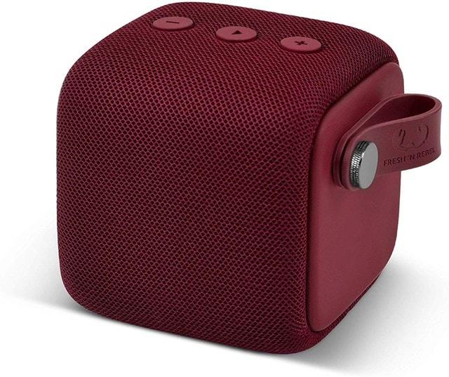 Fresh n Rebel Bold S Ruby Red Bluetooth Speaker - 1
