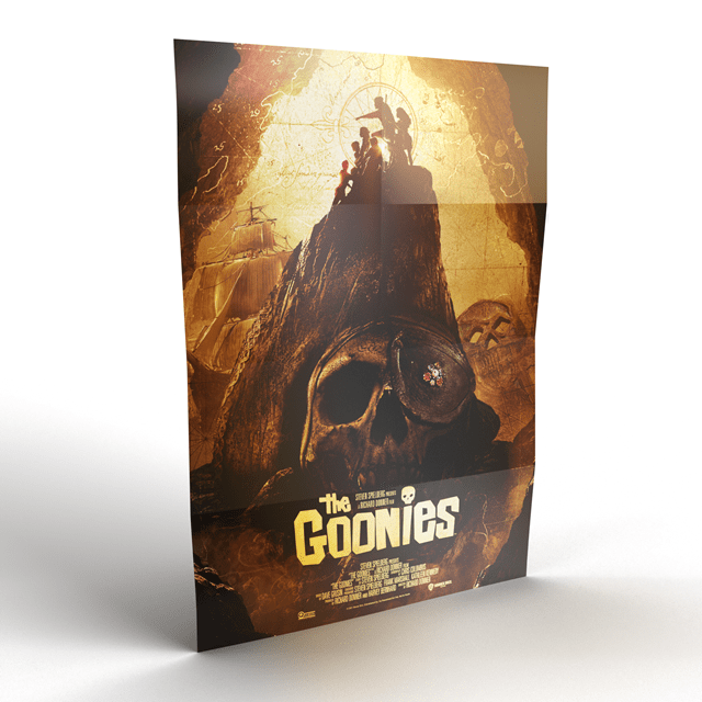 The Goonies Titans of Cult Limited Edition 4K Ultra HD Blu-ray Steelbook - 4
