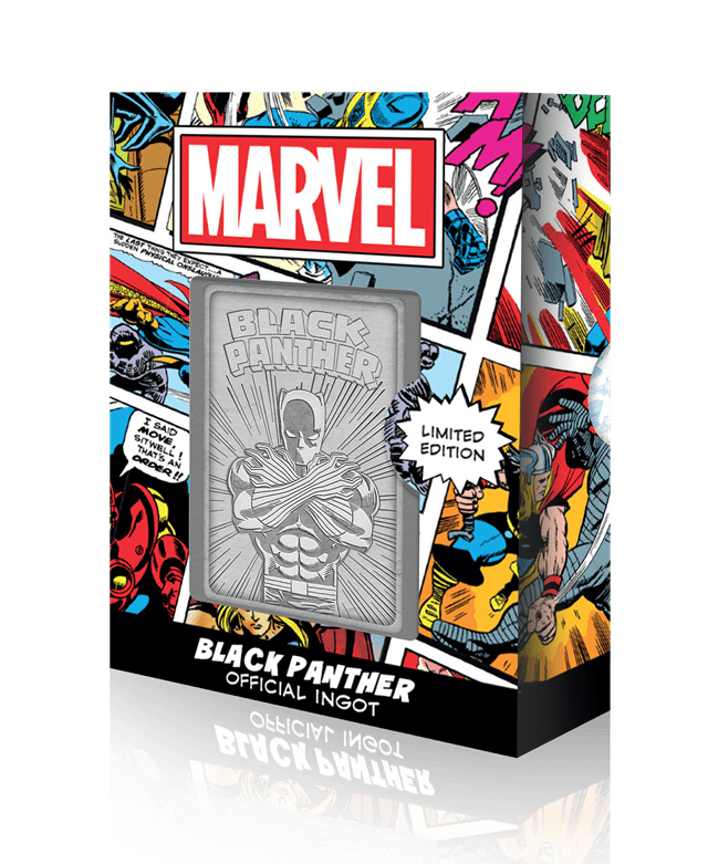Black Panther: Marvel Limited Edition Ingot Collectible - 1