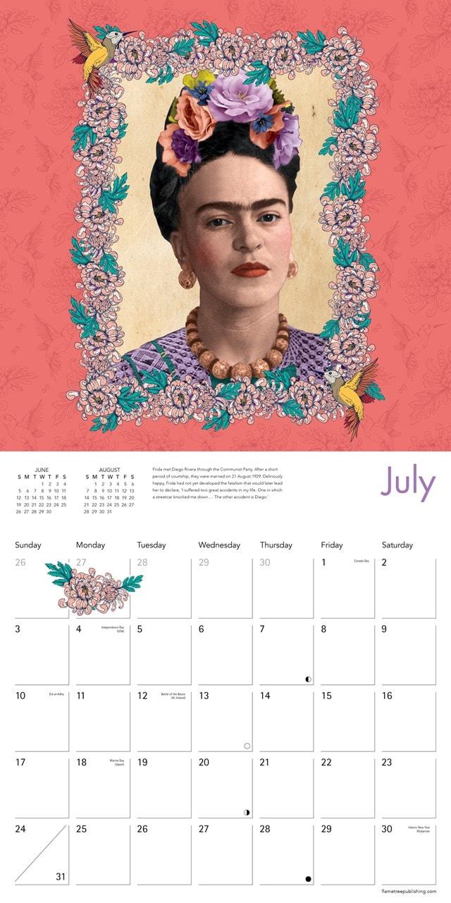 Frida Kahlo Square 2022 Calendar - 2
