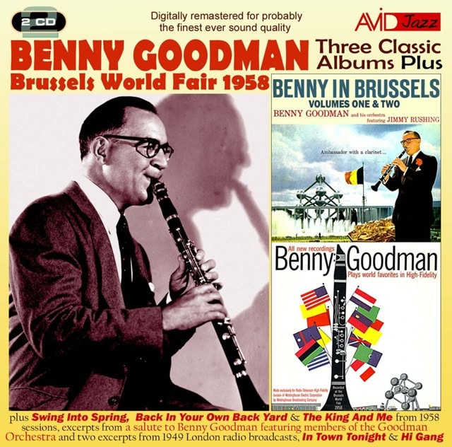 Three Classic Albums Plus: Benny in Brussels (1 & 2)/Plays World Favorites in High-fidelity - 1