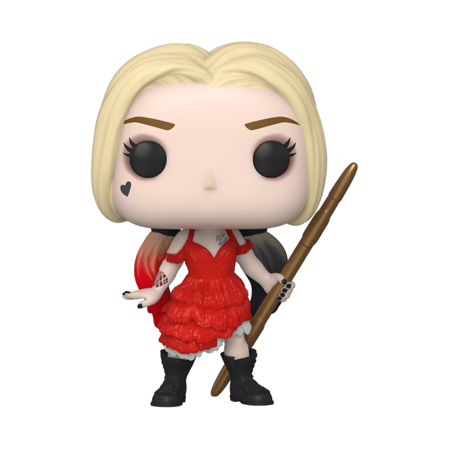 Ripped Dress Harley Quinn (1111): Suicide Squad 2021 Pop Vinyl - 1