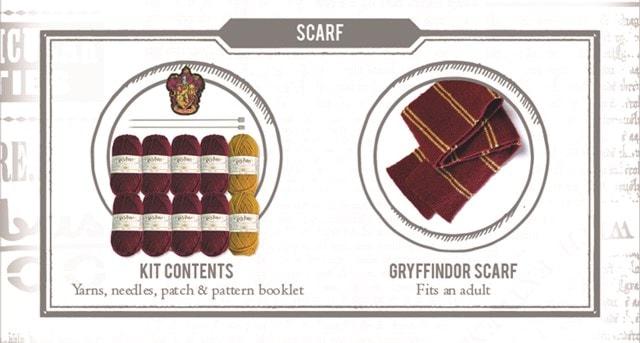 Gryffindor House Scarf: Harry Potter Knit Kit - 5