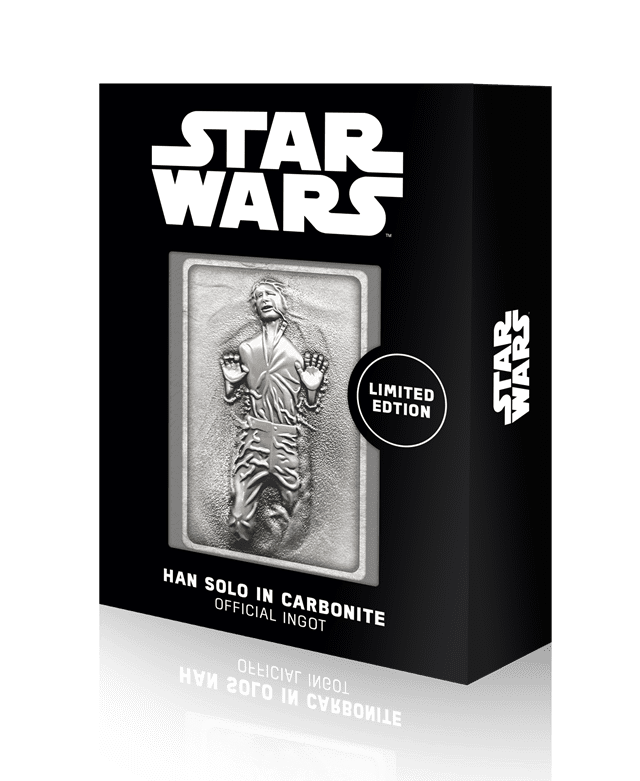 Han Solo In Carbonite: Star Wars Limited Edition Ingot Collectible - 1