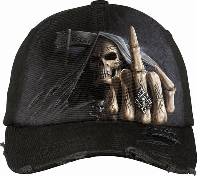 Bone Finger Baseball Cap - 1