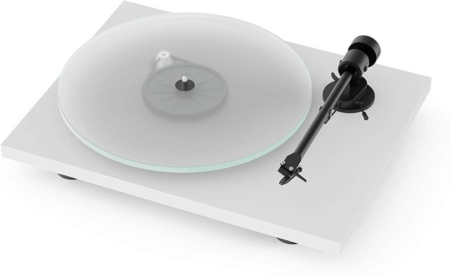 Pro-Ject T1 White Turntable - 1