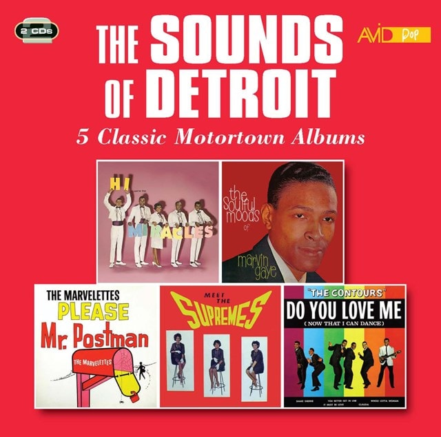 The Sounds of Detroit: 5 Classic Motortown Albums - 1