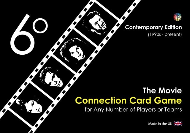 6 Degrees: Movie Connection Card Game - 1