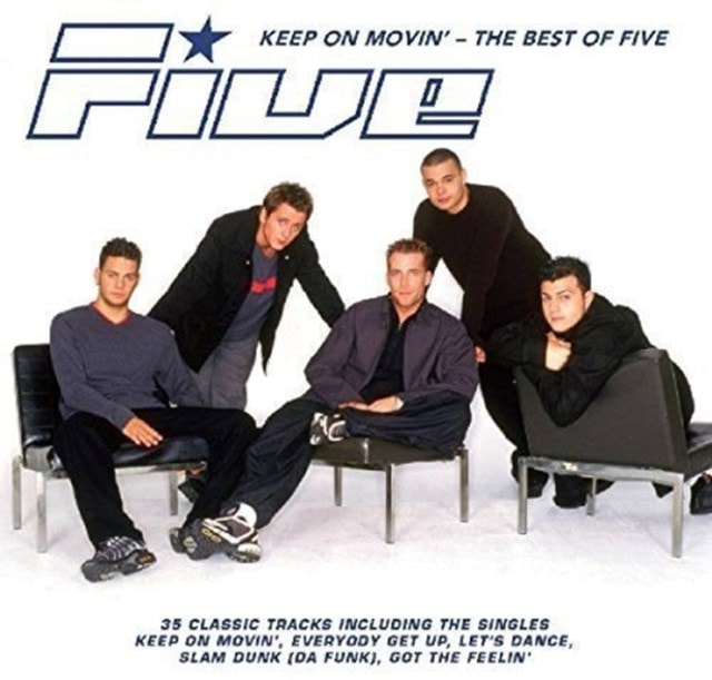 Keep On Movin': The Best of Five - 1