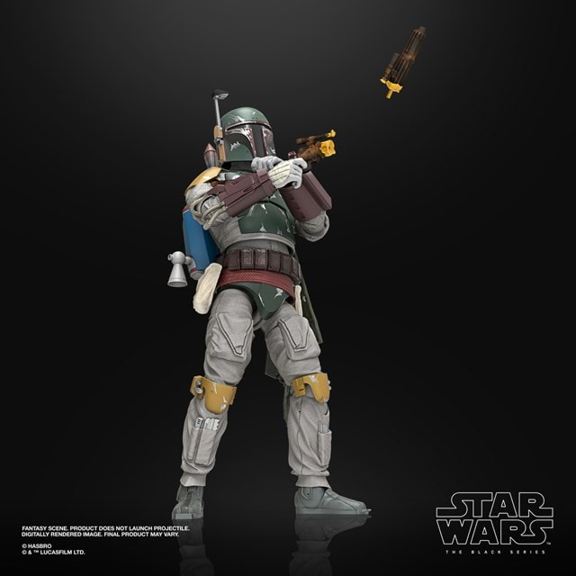 Boba Fett: Deluxe: The Black Series: Star Wars Action Figure - 3