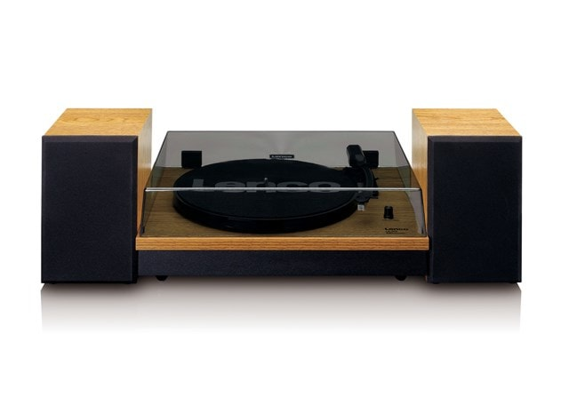 Lenco LS-300 Wood turntable and Speakers - 2