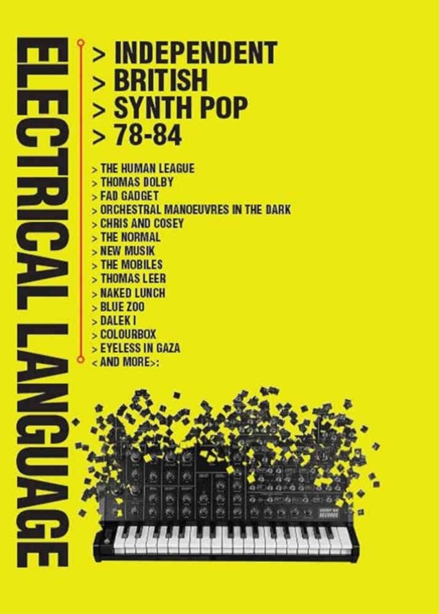 Electrical Language: Independent British Synth Pop 78-84 - 1