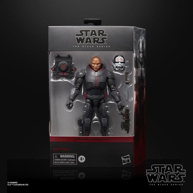 Wrecker: Bad Batch: Star Wars The Black Series Action Figure - 5