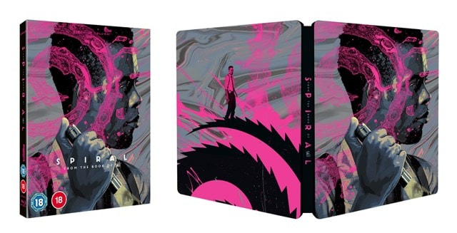 Spiral - From the Book of Saw Limited Edition 4K Ultra HD Steelbook - 2