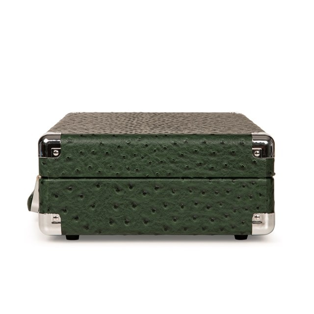Crosley Cruiser Deluxe Green Ostrich Turntable - 4