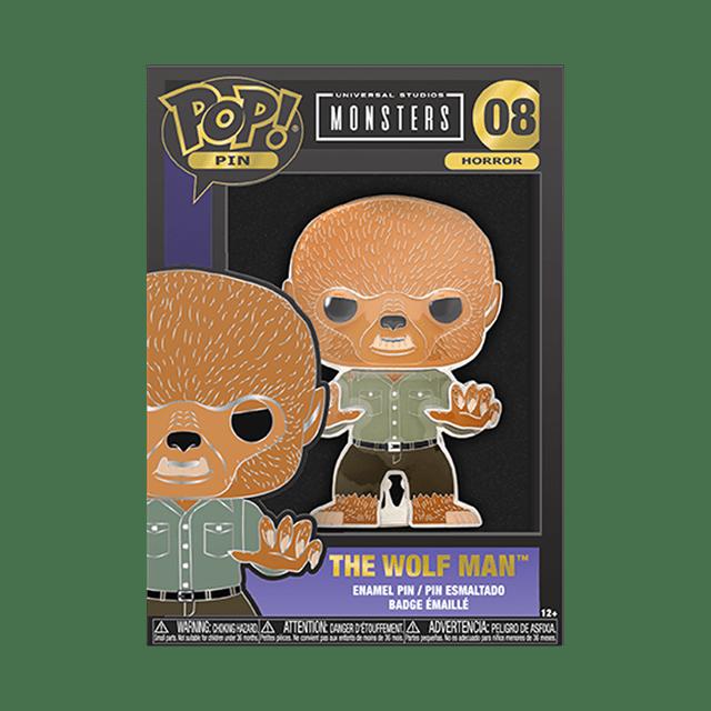 Wolf Man: Monsters Funko Pop Pin - 2