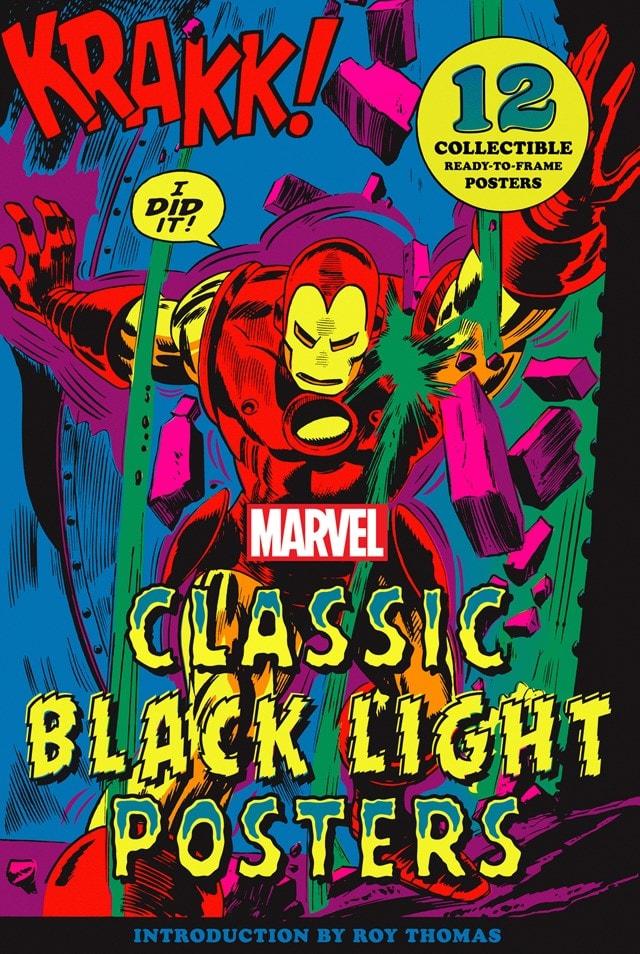 Marvel Classic Black Light Collectible Poster Portfolio - 1