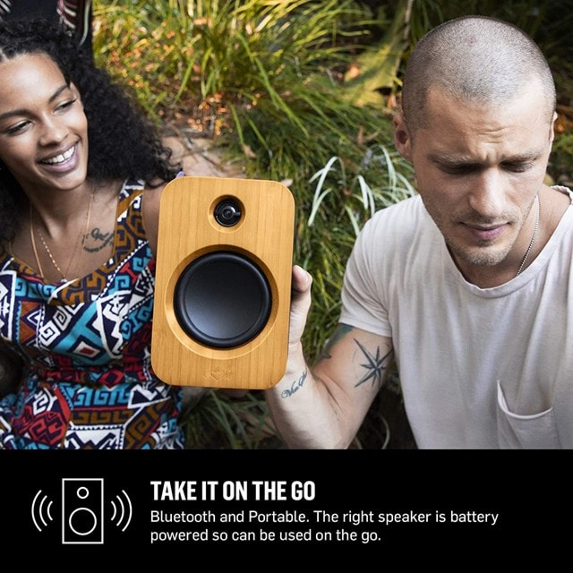 House Of Marley Get Together Duo Bluetooth Bookshelf Speakers - 5