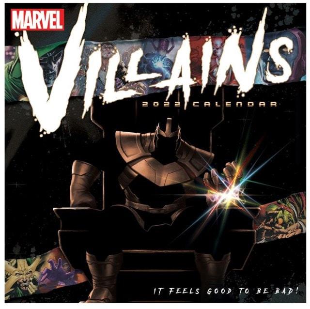 Marvel Villains: Square 2022 Calendar - 1