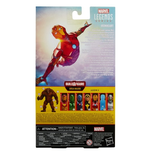 Hasbro Marvel Legends Series Ironheart Action Figure - 12