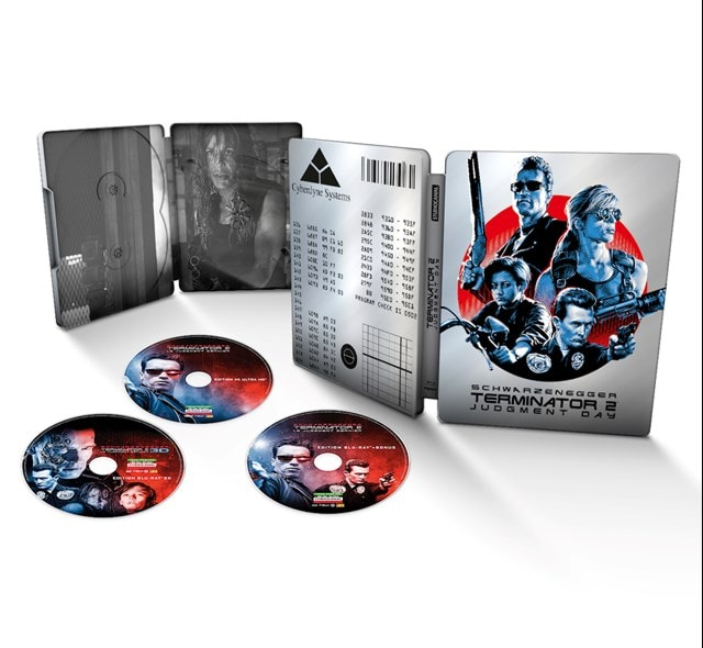 Terminator 2 - Judgment Day 30th Anniversary Limited Edition 4K Ultra HD Steelbook - 1