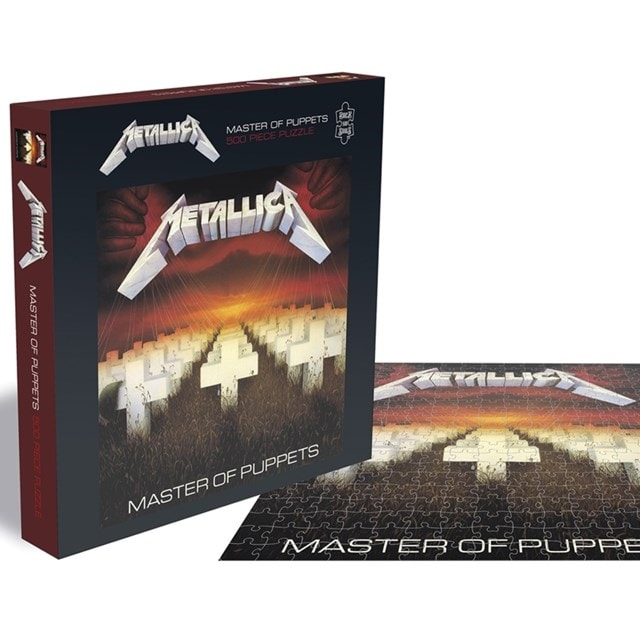 Metallica - Master Of Puppets: 500 Piece Jigsaw Puzzle - 1