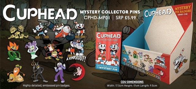Cuphead: Mystery Pin Badges - 1
