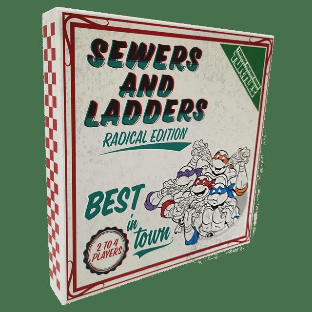 Teenage Mutant Ninja Turtles: Sewers & Ladders Board Game - 6