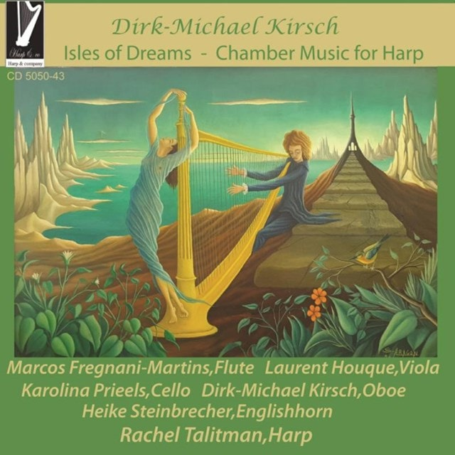 Dirk-Michael Kirsch: Isles of Dreams/Chamber Music for Harp - 1