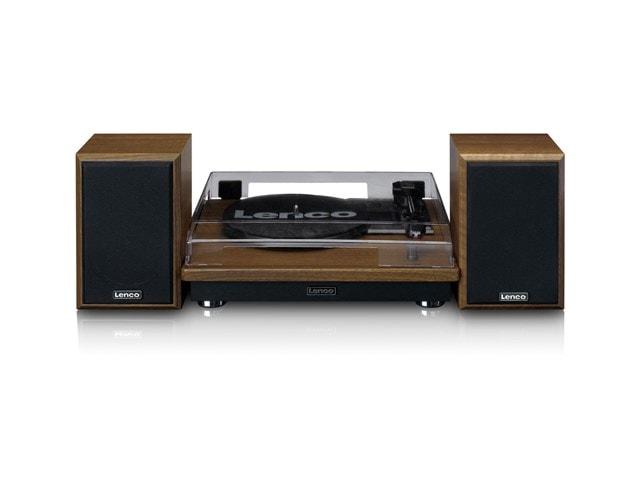 Lenco LS100 Wood Turntable & Speakers - 3