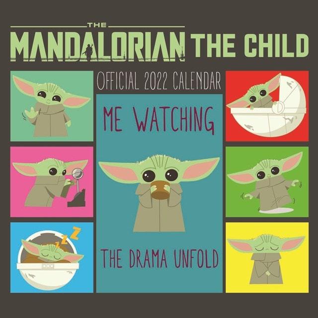 The Child: The Mandalorian: Star Wars (hmv Exclusive) Square 2022 Calendar - 1