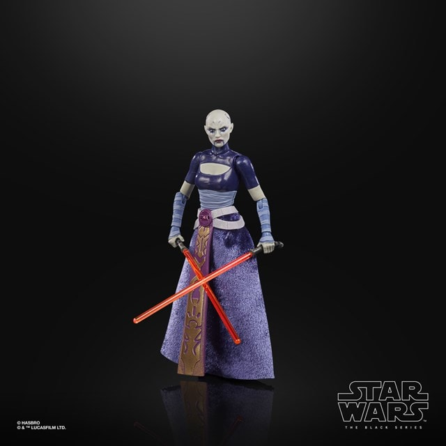 Asajj Ventress: Clone Wars: Star Wars Black Series Action Figure - 2