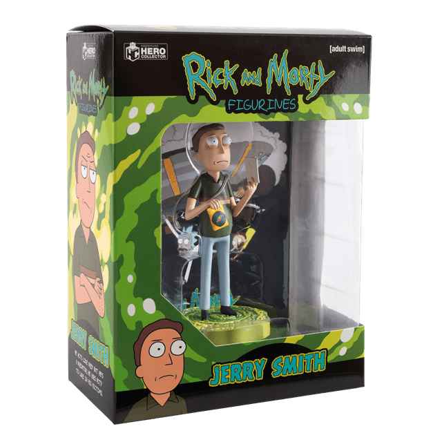 Jerry: Rick And Morty 1:16 Figurine With Magazine: Hero Collector - 2