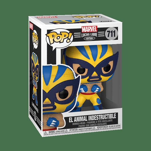 El Animal Indestructible: Wolverine (711): Lucha Libre: Marvel Pop Vinyl - 2