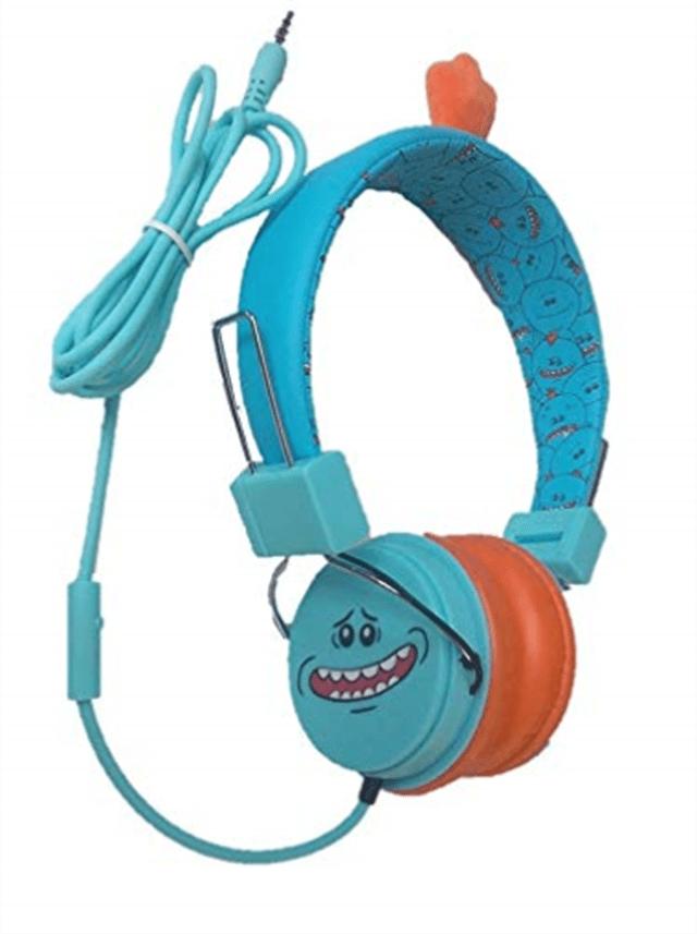 Lazerbuilt Rick & Morty Mr Meeseeks Headphones w/Mic - 1