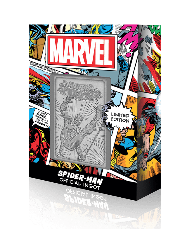 Spider-Man: Marvel Limited Edition Ingot Collectible - 1