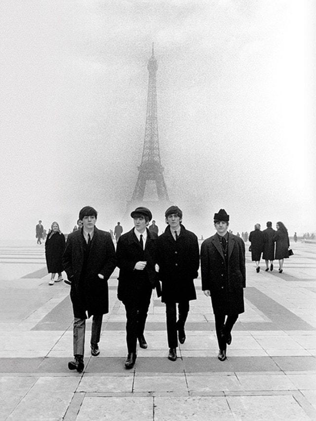 The Beatles: Paris Canvas Print - 1