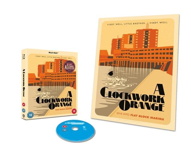 A Clockwork Orange - Travel Poster Edition - 1