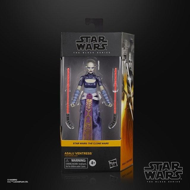 Asajj Ventress: Clone Wars: Star Wars Black Series Action Figure - 4