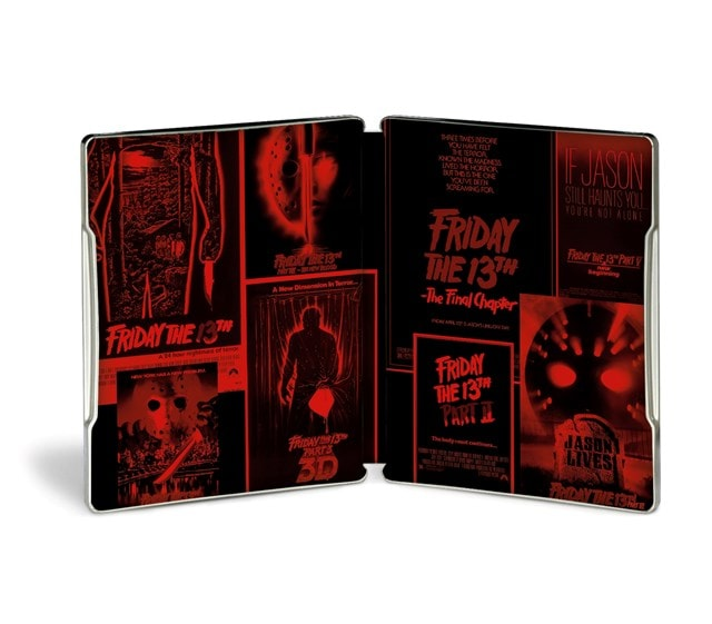 Friday the 13th: Parts 1-8 Limited Edition Steelbook - 6