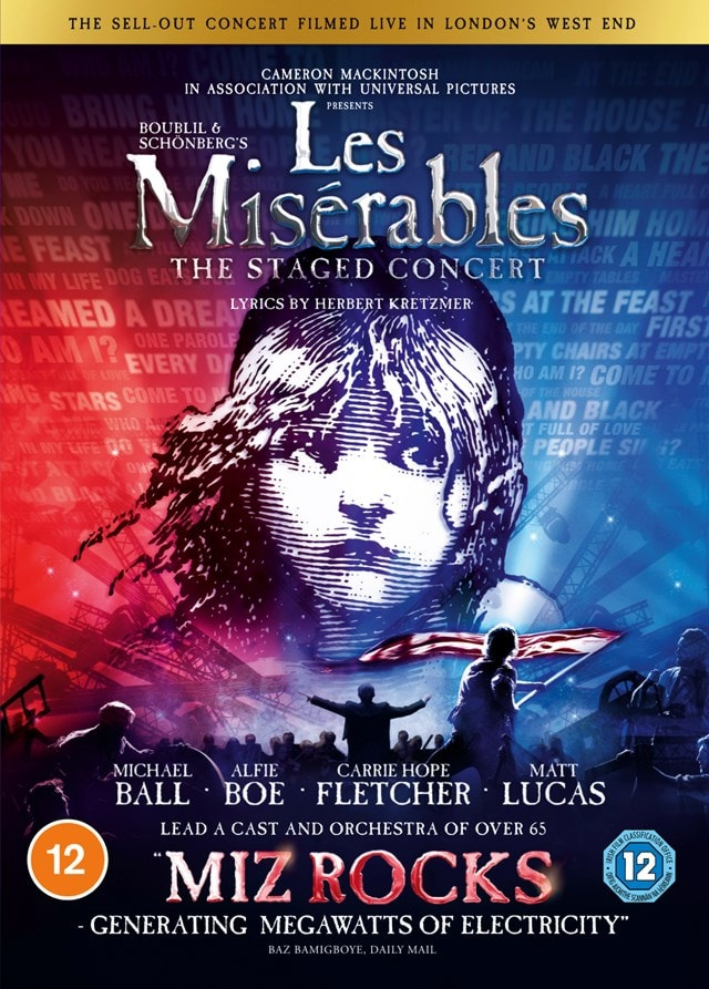 Les Miserables: The Staged Concert - 1