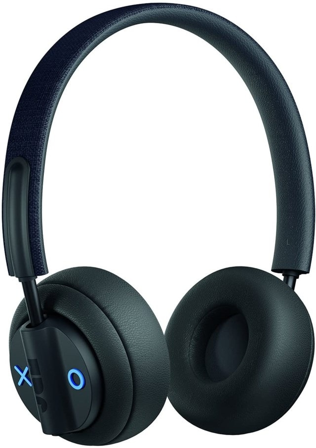 Jam Out There Black Active Noise Cancelling Bluetooth Headphones - 1